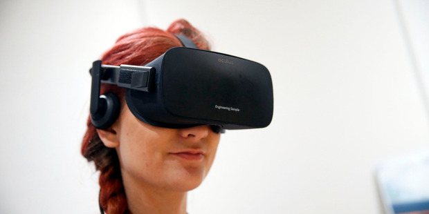 On Monday, Oculus, the Facebook-owned company, announced that it will start taking pre-orders for its Oculus Rift headset on January 6. Photo / Bloomberg