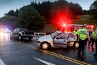 Greasy road conditions have contributed to several road crashes in Hawke's Bay.