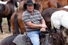 Mid Northern Rodeo Club president Noel Upton will be the pick-up rider at this weekend's rodeo, picking riders up off their bucking horses. Photo / John Stone