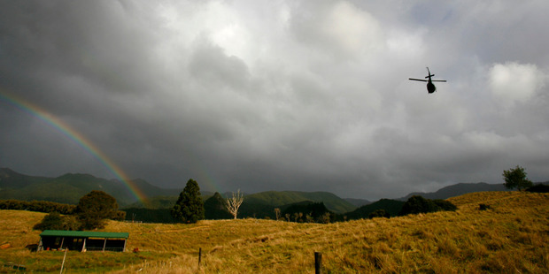 It is believed the man was canyoning alone at the time of his death in Kauaeranga Valley. Photo / Amos Chapple