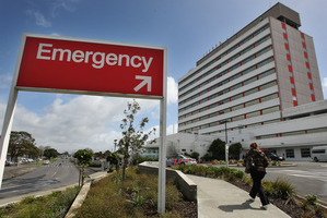 Waitemata's chief medical officer, Dr Andrew Brant, said his DHB was now exceeding the target. Photo / Greg Bowker