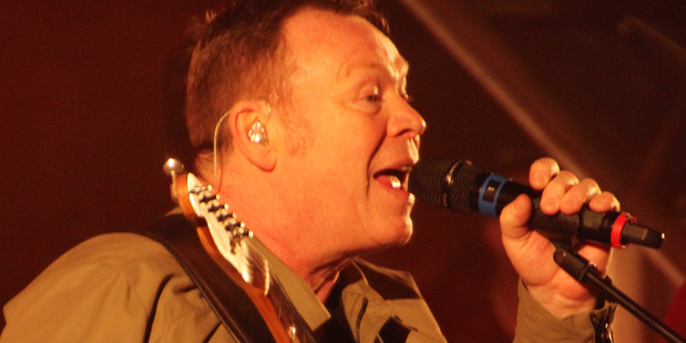 UB40 frontman Ali Campbell in action at the Kainui Road Winery in Kerikeri. Photo / Peter de Graaf, Northern Advocate