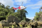 The 38-year-old fell on rocks in Torrent River, near Torrent Bay in the Abel Tasman National Park. Photo / Supplied