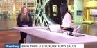BMW tops US luxury auto sales