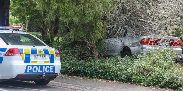 The car was travelling at speeds of up to 100km/h in a 50km/h zone. Photo / Supplied, Daniel Hines