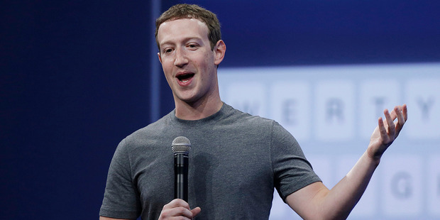 While on paternity leave, Zuckerberg offers dating advice to his followers. Photo / AP