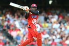 Gayle is expected to play in tomorrow's Big Bash League Melbourne derby. File Photo / Getty Images.