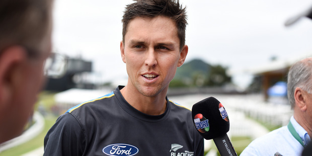 Black Cap Trent Boult is gearing up for a big role at tomorrow's match against Sri Lanka at Mount Maunganui's Bay Oval tomorrow. Photo/George Novak