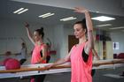 Corazon Miller found Barrefigure testing despite her dance background. Photo / Doug Sherring