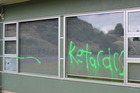 Vandals have targeted Goldfields School in Paeroa, which provides special needs education. Photo / Supplied