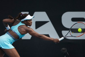 The career of ASB Classic semifinalist Sloane Stephens has been on an upward trajectory since last year. Picture / Nick Reed.