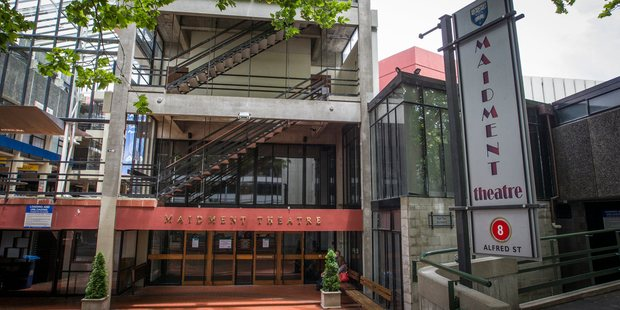 Auckland University's Maidment Theatre has been closed due to it being an Earthquake risk. Photo / Greg Bowker