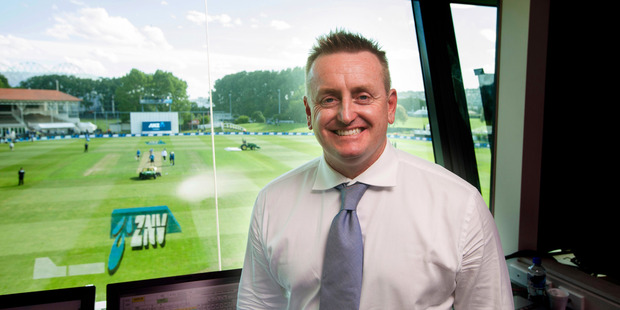 Sky TV commentator Scott Styris. Photo / Photosport