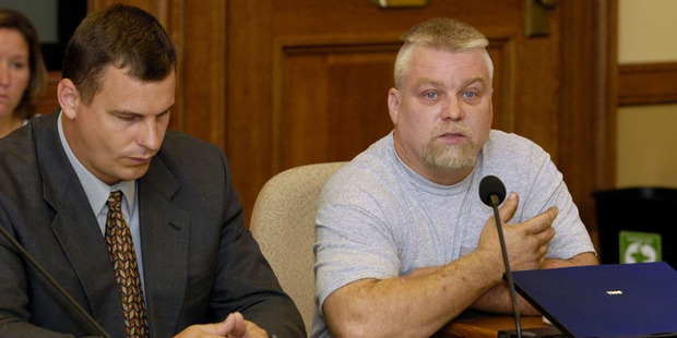 Steven Avery in the Netflix original documentary series Making a Murderer. Photo / Supplied