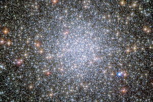 It's a globular star cluster and is known as 47 Tucanae. But is anybody out there? Picture / AP, Nasa.