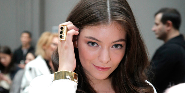 Lorde spent the holidays at home in New Zealand. Photo / AP