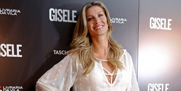 Brazilian model Gisele Bundchen. Photo / AP