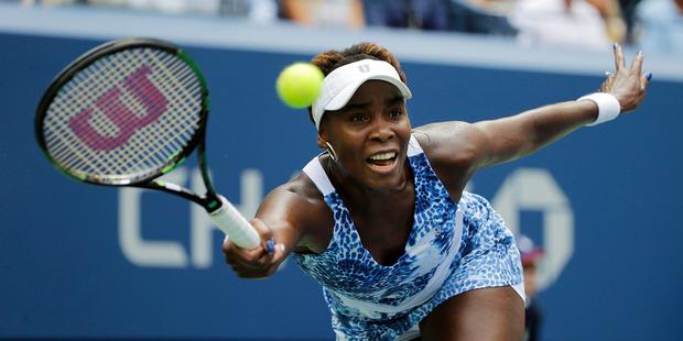 Venus Williams. Photo / AP