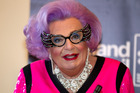 Dame Edna, aka Barry Humphries. Photo / Steven McNicholl