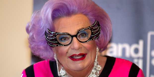 Dame Edna, aka Barry Humphries. Photo / Steven McNicholl