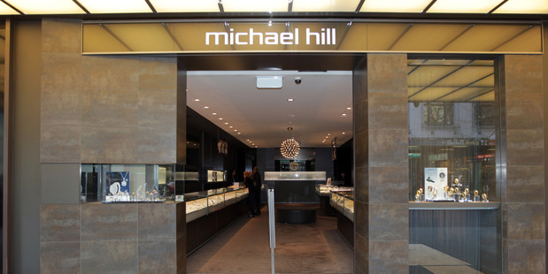 Michael Hill stock rose 1 percent to 99 cents on the NZX main board, valuing the company at $379.3 million.