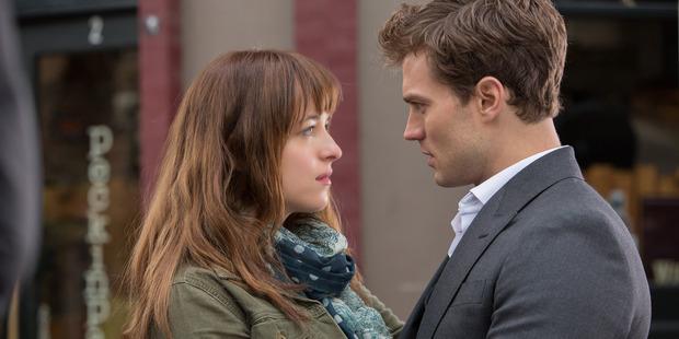 Fifty Shades of Grey stars Dakota Johnson and Jamie Dornan. Photo / Supplied