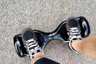 Self-balancing hoverboard. Photo / Supplied