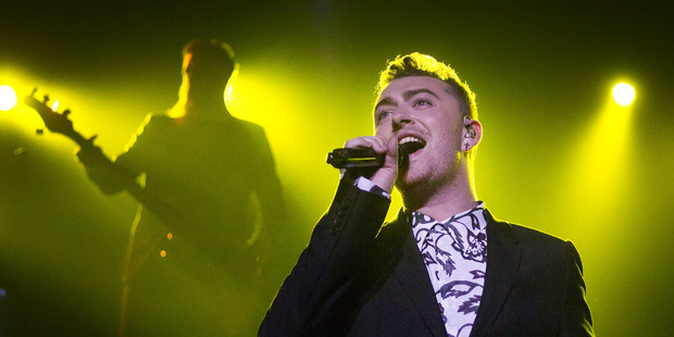 Sam Smith was injured when a game of hide and seek with his security guard went wrong. Photo / Getty