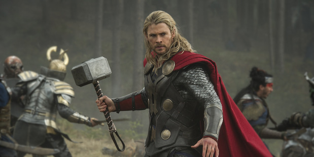 Chris Hemsworth won favourite action star for his role as Thor.