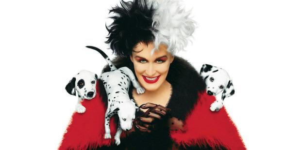 Glenn Close as Cruella DeVille from the 1996 film 101 Dalmations.