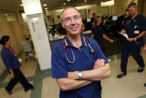 Dr Derek Sage, headof Tauranga Hospital's emergency department. Photo/file