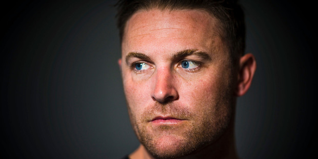 I blame Brendon McCullum. All that swagger and machoism of his. Photo / Greg Bowker