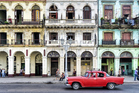Vintage cars abound in Havana. Photo / Getty Images