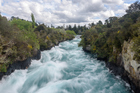 Huka Falls on the Waikato River. Photo / Getty Images