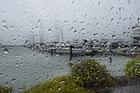 WON'T LAST: Wet weather hammered the Bay of Plenty yesterday.PHOTO/GEORGE NOVAK