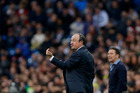 Real Madrid's head coach Rafael Benitez. Photo / AP