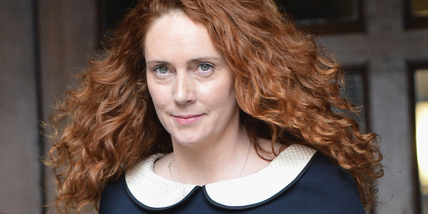 Rebekah Brooks leaves the High Court after giving evidence to the Leveson Inquiry. Photo / Getty Images