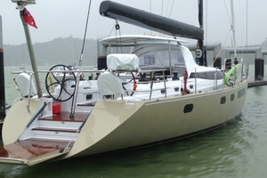 Police and boaties saved this $2.5 million yacht after it broke anchor during the New Year's Eve storm.