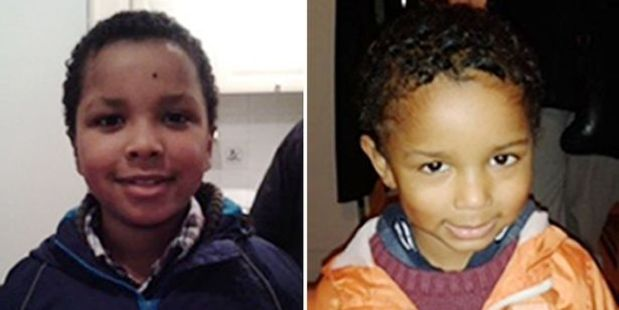 Sian Blake's sons Zachary, eight, and Amon, four, disappeared on December 13.