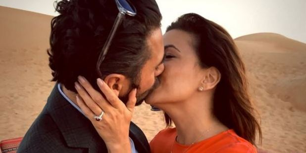Eva Longoria became engaged to José 'Pepe' Bastón in Dubai. Photo / Instagram