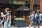 The owner of Scotty's Bar on Eat Streat has to sell up or close down. Photo / Stephen Parker