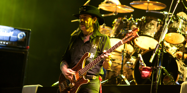 Lemmy Kilmister founding member and singer in the British heavy metal band Motorhead. Photo / iStock