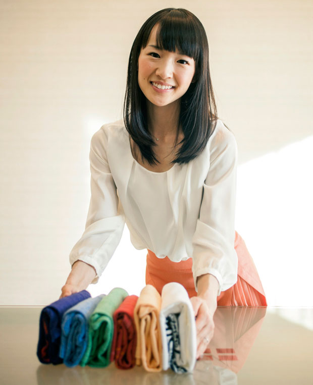 Kondo is a celebrity in Japan and her four books in Japanese have sold a total of 2.2 million copies. Photo / Washington Post