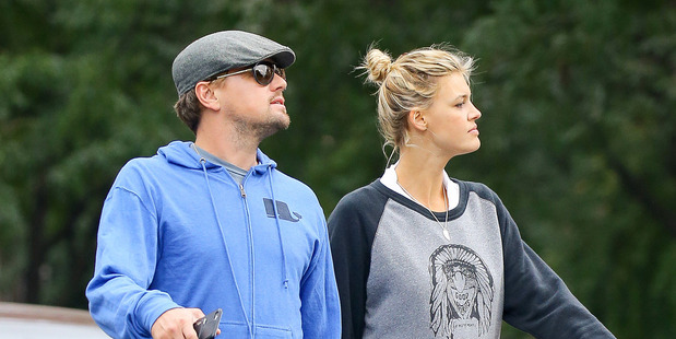 Leonardo DiCaprio and Kelly Rohrbach have split up due to their hectic career schedules. Photo / Splash