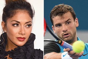 Nicole Scherzinger has been seen kissing the 24-year-old tennis player. Photos / Getty Images