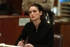 Winona Ryder listens to arguments during the sentencing phase of her shoplifting trial. (Photo by Steve Grayson/WireImage)