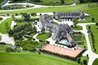 The sprawling Coatesville estate at 186 Mahoenui Valley Rd - also known as the Chrisco mansion - has 12 bedrooms, is on 22.6ha with its own vineyard.