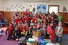 Donated sports gear and equipment has brought fresh excitement to Te Kura o Waharoa and the surrounding community.
