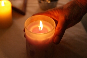 Each year a candlelight memorial service for families is held in the Clive Square Community Rooms, Napier.