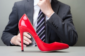 Women have long known of the power a beautiful pair of big heels can bestow.